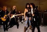 Aerosmith - Rooftop Blues 1990s Photographie par  Epic Rights
