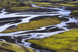 River Landscape, Iceland Photographic Print by Gavriel Jecan