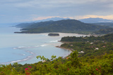 Elevated View over Tropical Coastline, Jamaica Photographic Print by Doug Pearson