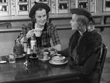 Two Women at Restaurant Photographic Print by George Marks