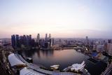 Skyline Marina Bay Singapore Photographic Print by  Poncho