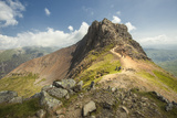Crib Goch - Wales Photographic Print by Ray Wise
