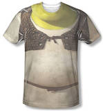Shrek - Costume Tee Vêtements