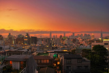 Tokyo Sunset, Harajuku Photographic Print by Copyright Artem Vorobiev