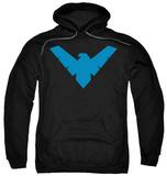 Hoodie: Batman - Nightwing Symbol Vêtements