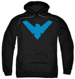 Hoodie: Batman - Nightwing Symbol Pullover Hoodie