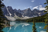Lac Moraine, Canada Reproduction photographique par Glenn Ross Images