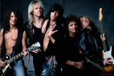 Aerosmith - Let the Music Do the Talking 1980s Foto von  Epic Rights