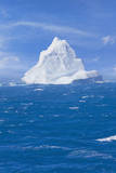 Antarctica Iceberg Floating Photographic Print by Ralf Hettler