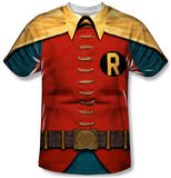 Youth: Batman Classic TV - Robin Costume Shirts