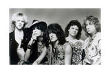 Aerosmith - What it Takes 1980s (Black and White) Photo af Epic Rights