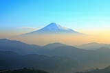 Mt. Fuji Seen from Shizuoka in the Morning Photographic Print by  huayang