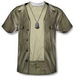 M.A.S.H. - Hawkeye Costume Tee T-shirts