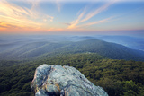 Humpback Rock Sunset Photographic Print by Malcolm MacGregor