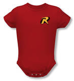 Infant: Batman - Robin Logo Onesie Shirts