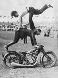 Stuntmen Photographic Print by Fox Photos