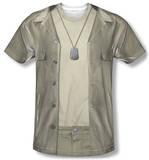 M.A.S.H. - Hawkeye Costume Tee Vêtement