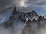 The Dent Du Geant, in the Mont Blanc Massif Photographic Print by Buena Vista Images