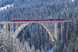 Langwies Viaduct, Switzerland Photographic Print by Werner Dieterich
