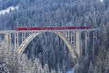 Langwies Viaduct, Switzerland Photographic Print by Werner Dieterich