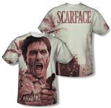Scarface - War Cry (Front/Back Print) Vêtements