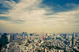 Tokyo Tower Photographic Print by Russell Morales