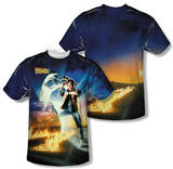 Back to the Future - Movie Poster (Front/Back Print) Shirts