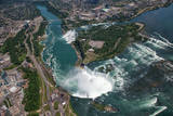 Aerial View of the Niagara Falls. Ontario.Canada. Photographic Print by Peter Oshkai (www.peteroshkai.com)