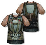 Dark Knight Rises - Bane Costume (Front/Back Print) T-shirts