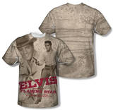 Elvis Presley - Flaming Star (Front/Back Print) Shirts