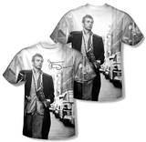 James Dean - Street Walk (Front/Back Print) Shirts
