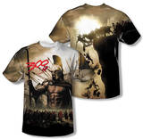 300 - Spartans (Front/Back Print) T-Shirt