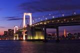 Rainbow Bridge | Tokyo Photographic Print by  shiroooooooo