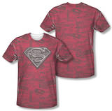 Superman - Super Powers (Front/Back Print) T-shirts