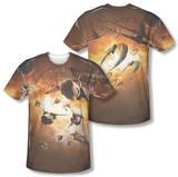 Battlestar Galactica - Dog Fight (Front/Back Print) Vêtements