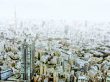 Foggy Tokyo View Photographic Print by Dreaming life