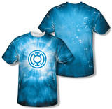 Green Lantern - Blue Energy (Front/Back Print) Shirts