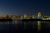 Tokyo Rainbow Bridge by Night Photographic Print by  boma.dfoto@gmail.com