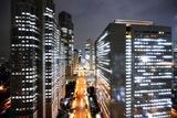 Tokyo Shinjuku Skyscrapers Photographic Print by vladimir zakharov