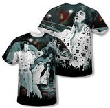 Elvis Presley - Now Playing (Front/Back Print) T-shirts