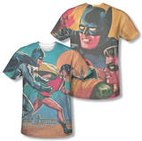 Batman Classic TV - Let's Go (Front/Back Print) T-Shirt