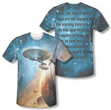 Star Trek - Final Frontier (Front/Back Print) Sublimated