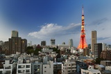Tokyo Tower and Cityscape at Sunset Photographic Print by vladimir zakharov