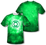 Green Lantern - Green Energy (Front/Back Print) T-shirts