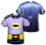 Batman Classic TV - Batman Costume (Front/Back Print) Shirt