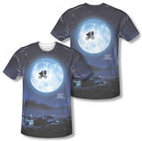 E.T. - Moon (Front/Back Print) Shirt