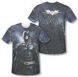 Dark Knight Rises - Stormy Knight (Front/Back Print) T-shirts