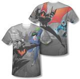 Batman Beyond - Baddie Battle (Front/Back Print) Shirts