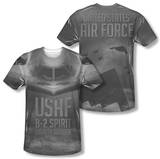 Air Force - Stealth (Front/Back Print) Sublimated