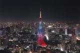 Tokyo Tower Photographic Print by Yuga Kurita